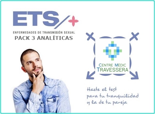 Pack de 3 analíticas ETS