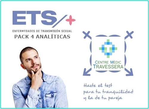 Pack de 4 analíticas ETS